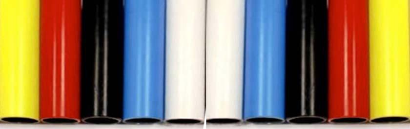 Tubos Colores energía eolica