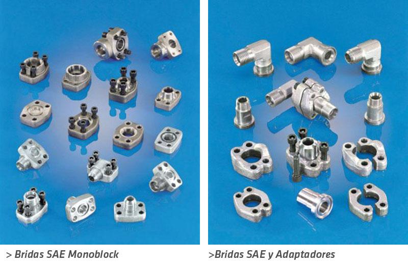 bridas-SAE-monoblock-adaptadores