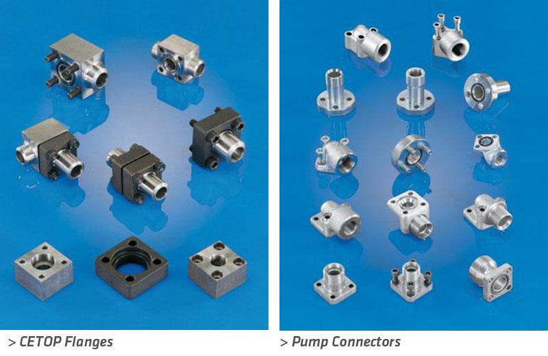 flanges-cetop-pump-connectors