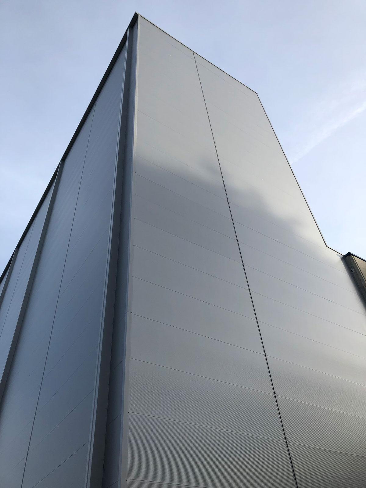 New automated warehouse for pallets - Leku-ona - Leku-ona